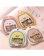 50 st/påse gör-det-själv söt tecknad Kawaii PVC-klistermärken härlig katt björn klistermärke för dagbok dekoration rosa
