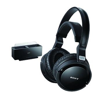 Sony MDRRF4000K - Auriculares supra-aurales inalámbricos por radiofrecuencia, color negro: Amazon.es: Electrónica