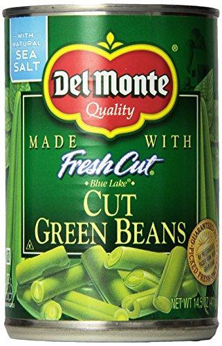 Del Monte Blue Lake Cut Green Beans w/Natural Sea Salt 14.5 Oz. (3 Pack)