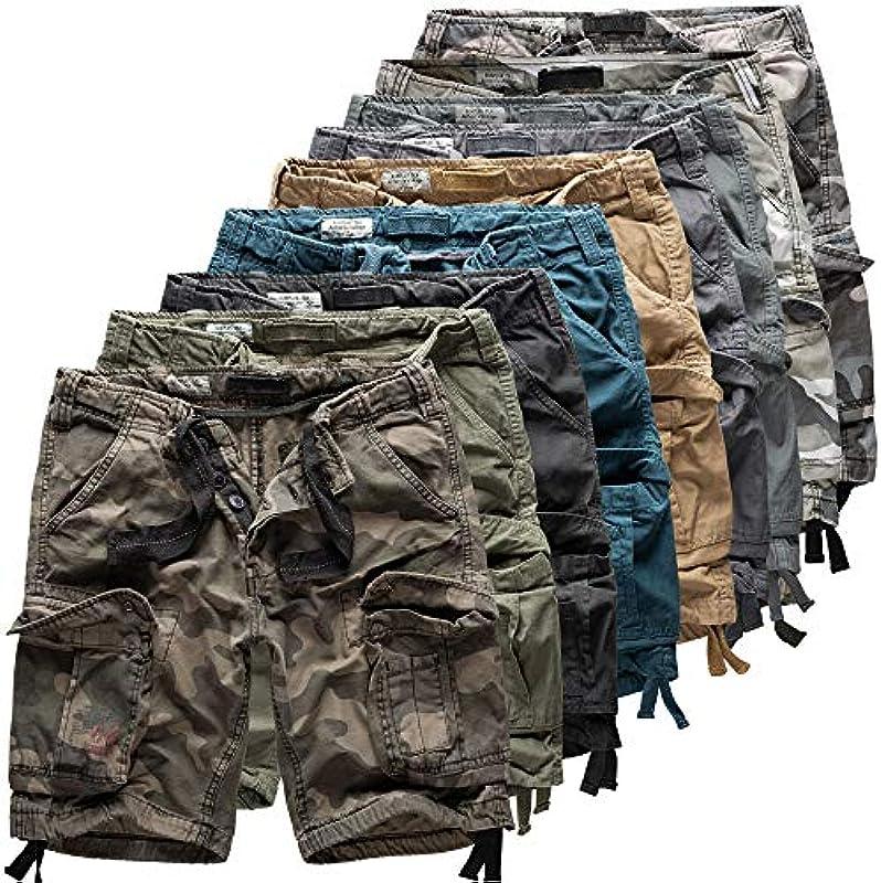 "Trooper ""Airborne Shorts Lightning Edition Navy - 7XL: Odzież"