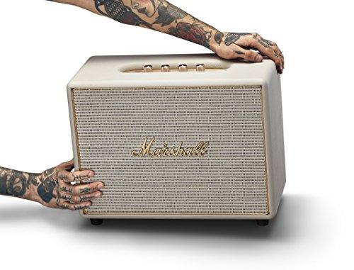 Marshall Woburn Wireless Multi-Room Bluetooth Speaker, Cream (04091923)