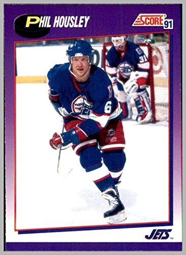 1991-92 Score American #271 Phil Housley WINNIPEG JETS currently Head Coach BUFFALO - Winnipeg Head Shop