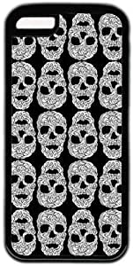 Black And White Skull Head Pattern Theme iphone 5s Case