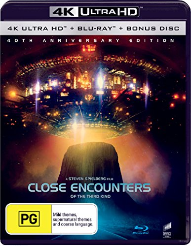 Close Encounters of the Third Kind 4K UHD Blu-ray | Steven Spielberg's | NON-USA Format | Region B Import - Australia (Close Encounters Of The Third Kind 4k Uhd)