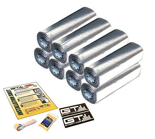 24sqft-12x36-sheets-gtmat-supreme-110mil-four-door-kit-automotive-car-sound-deadener-road-noise-damp