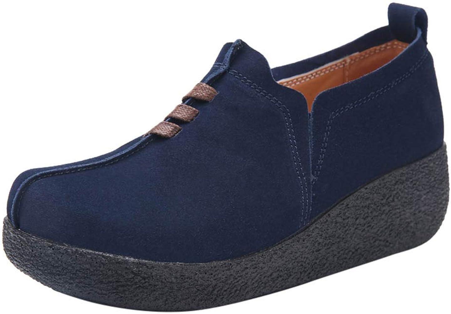 VECDY Sandalias Mujer Verano 2019, Zapatos Deporte Mujer Zapatillas Deportivas Correr Gimnasio Caminar Mesh Running Transpirable Guisantes Barco Zapato Madre Zapatos Individuales Azul,35: Amazon.es: Ropa y accesorios