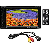 Boss Audio BVB9358RC Double DIN 6.2 DVD Receiver w/Backup Camera