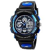 SKMEI Kids Digital Sports Watch Waterproof Dual Time Wrist Watch for Boys Girls