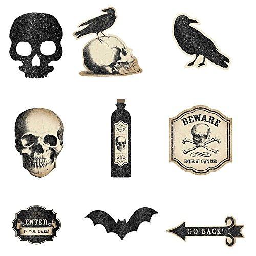 Amscan Boneyard Creepy Cutouts | Halloween Decoration for $<!--$3.05-->