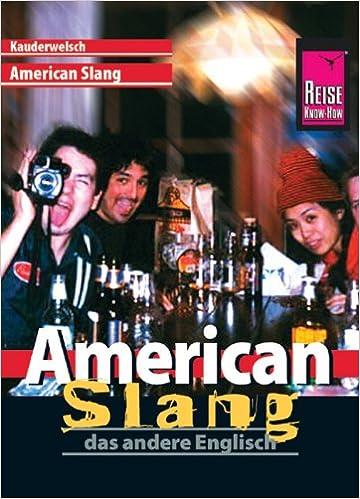 Book American Slang, das andere Englisch. Kauderwelsch.
