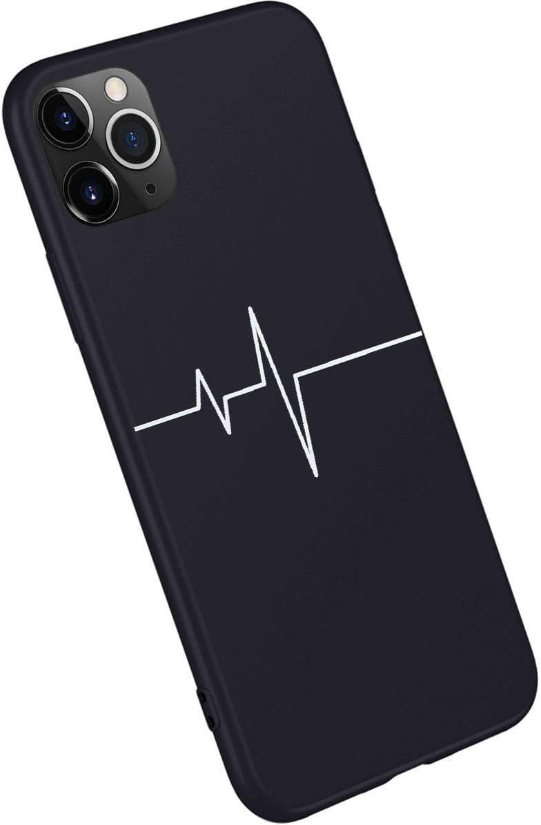 MoreChioce kompatibel mit iPhone 11 Pro Max H/ülle,kompatibel mit iPhone 11 Pro Max Handyh/ülle Silikon Einfarbig,Durchsichtig Crystal Case Defender Bumper,Sch/ön Gr/ün Silikonh/ülle Sto/ßfest Etui
