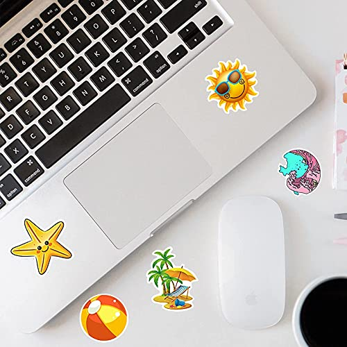 Stickers for Water Bottles, 100 PCS VSCO Stickers Vinyl Waterproof Cute Aesthetic Stickers for Hydro Flask, Laptop, Computer, Skateboard, Stickers Pack for Teens Girls Kids