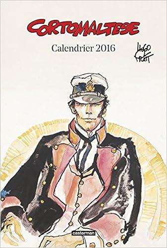 Livres Calendrier Corto Maltese 2016 pdf, epub