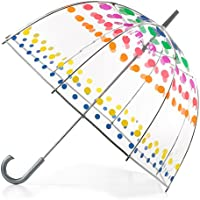 Totes Clear Bubble Umbrella (Dots)