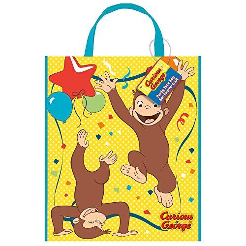 Curious George Party Bags (Unique Curious George Tote Bag, 13