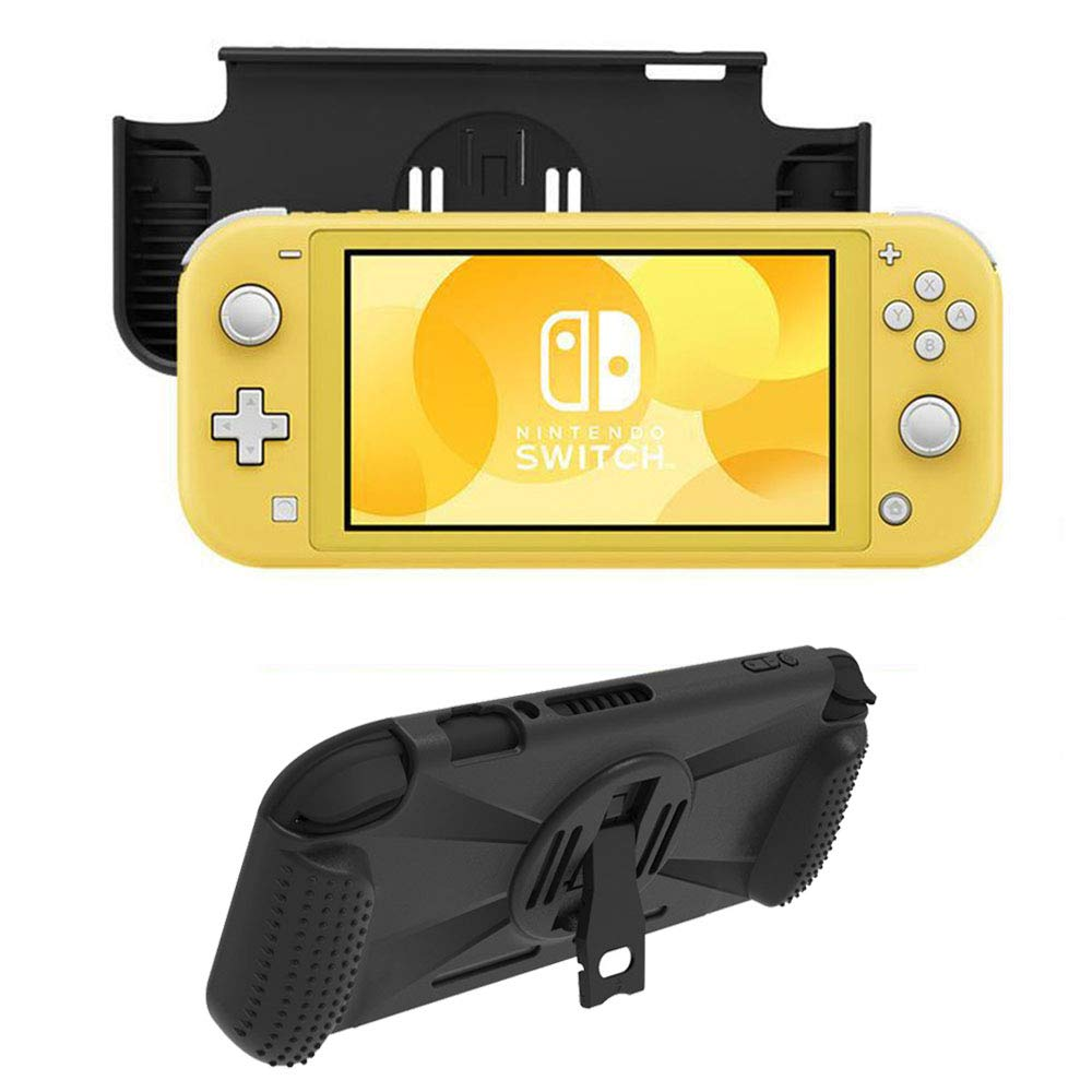 RLTech Hand Grip for Nintendo Switch Lite, Antiskid Protective Cover with Kickstand Comfort Hand Grip Case for Nintendo Switch Lite by RLTech