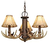 Vaxcel LK33053WP Lodge 3L Light Kit, Weathered Patina, Brown