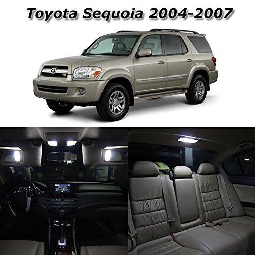 partsam-19pcs-white-interior-led-light-package-kit-for-toyota-sequoia-2004-2005-2006-2007