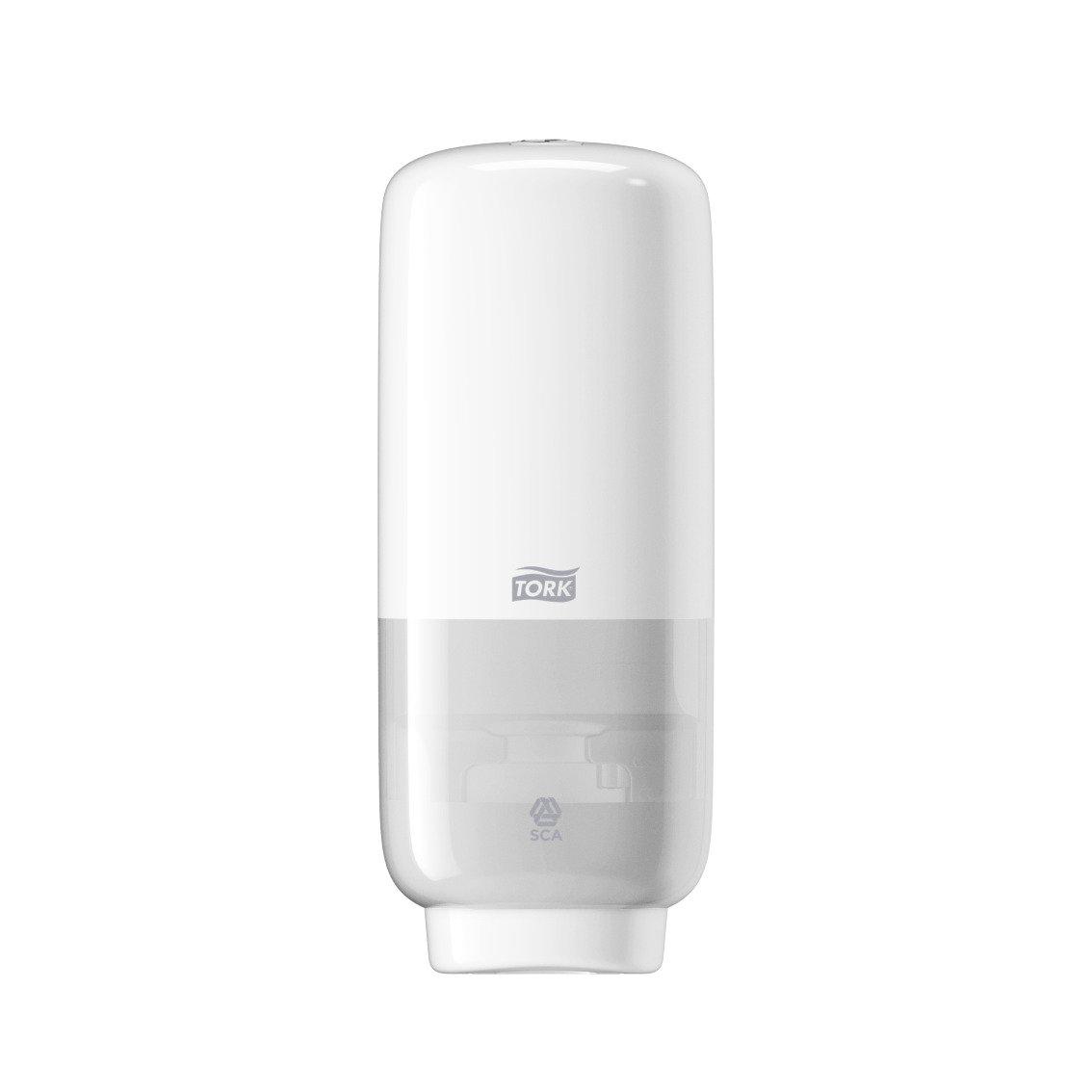 Tork 561608 Foam Soap Dispenser with Intuition Sensor S4 / Robust Wall Mounted Hand Wash Dispenser in Modern Elevation Design/Black SCA