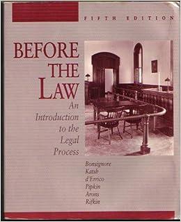 introduction to legal proces Faq du portail vie-publique sur la question prioritaire de constitutionnalité (qpc) depuis la révision constitutionnelle de juillet 2008, l'article 61-1 de la.