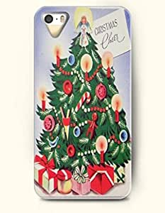 Merry Christmas Christmas Cheer Xmas Tree And Angel - OOFIT iPhone 4 4s Case