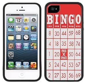 New Style Bingo Card Handmade iPhone 5C Black Case
