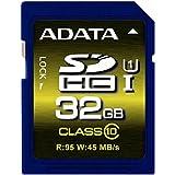 ADATA Premier Pro 32GB SDHC UHS-I U1 Memory Card (ASDH32GUI1CL10-R)