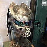 Pro Predator Motorcycle Helmet bone grill predator SY65 (M)