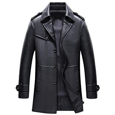 Back To Search Resultsmen's Clothing Faux Leather Coats Charitable 2018 New Winter Blazer Fur Collar Long Section Men Fur Coat Mens Business Casual Leather Jacket Fleece Warm Thick Overcoat Xxxl