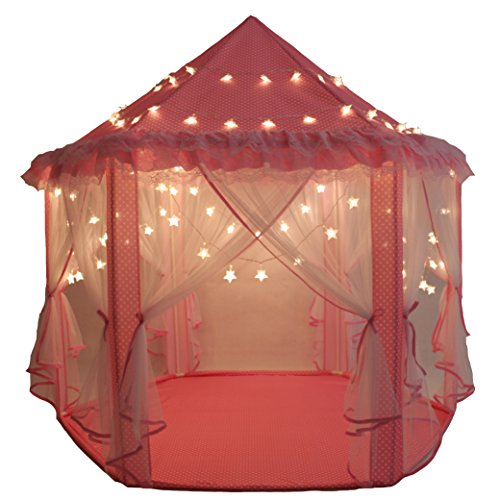 skyeyarc-princess-castle-play-tent-with-34-feet-100-led-star-lights-string-kids-indoor-playhouse-wit