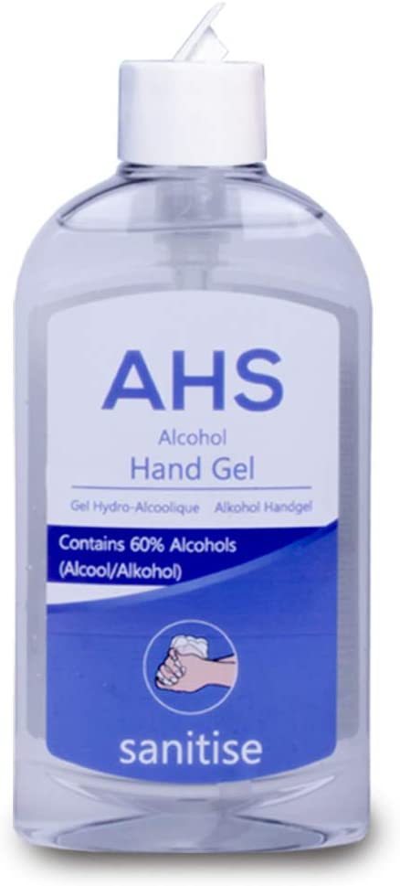 Ahs Alcohol Hand Sanitiser Nhs Grade 300ml Comes With Tch Anti