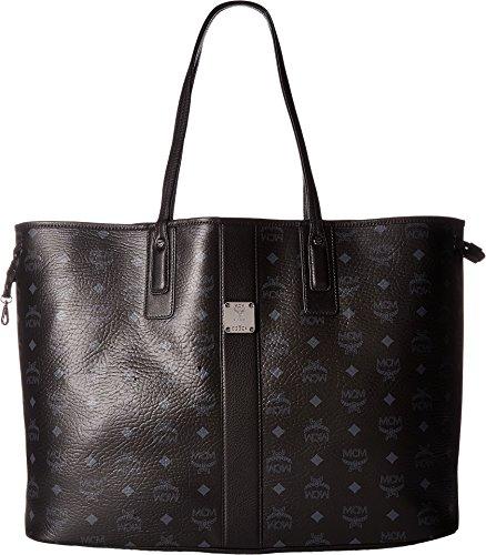 MCM Women's Large Liz Shopper Tote, Black, One Size by MCM
