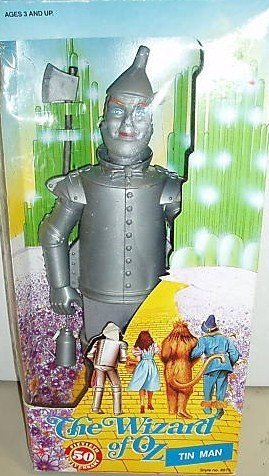 Wizard Of Oz Costumes Original (Wizard of Oz 50th Anniversary Tin Man Collectible Doll 1988)