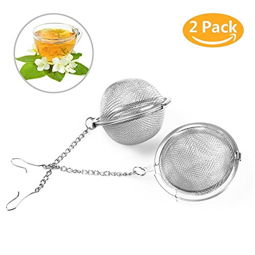 Stainless Steel Mesh Strainer Tea Ball - 9