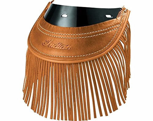 Fringe Flap (2014-2017 INDIAN CHIEF CHIEFTAIN ROADMASTER REAR MUD FLAP W FRINGE DESERT TAN)