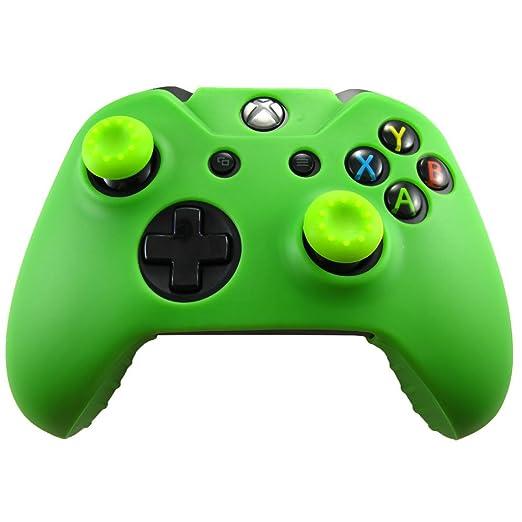 327 opinioni per Pandaren® Pelle cover skin per il Xbox One controller(verde) x 1 + pollice presa
