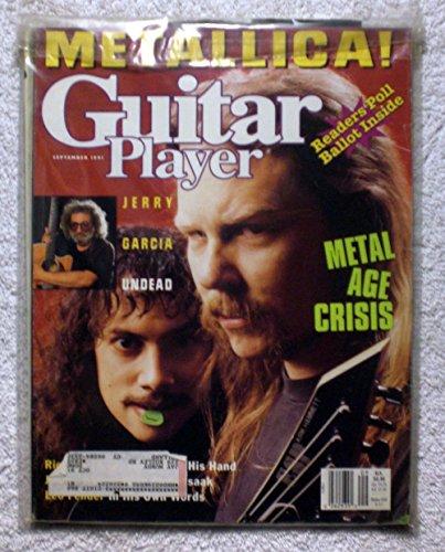 Metallica - Kirk Hammett & James Hetfield - Guitar Player Magazine - September 1991 - Jerry Garcia Article