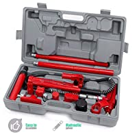 9TRADING 4 Ton Porta Power 4 Ton Body Frame Repair Kit Hydraulic Spreader Ram 4T Force HD, Free Tax,Delivered Within 10 Days