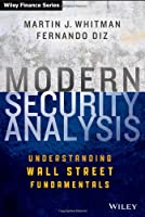 Modern Security Analysis Front Cover