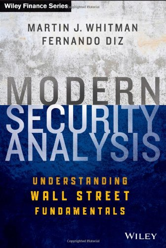 Modern Security Analysis: Understanding Wall Street Fundamentals by Wiley