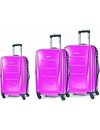 Samsonite Winfield 2 Spinner 3-Piece Luggage Set, Bubble Gum Pink