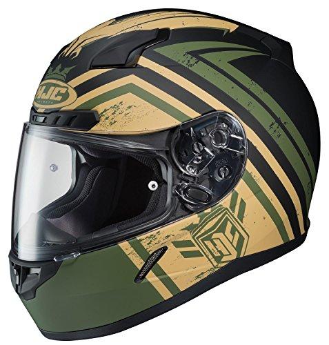 HJC Helmets Motorcycle CL-17 Mech Hunter UNI Flat Green Size Medium
