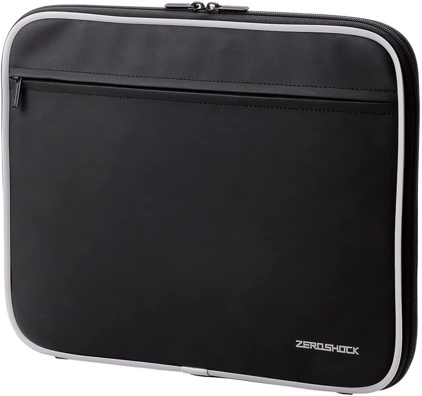 ELECOM Zero Shock Protective Sleeve/Water Resistance / 13.3 inch Conpatible with MacBook Air 13, iPad Pro, Surface Tablet/Black/ZSB-IBN13BK