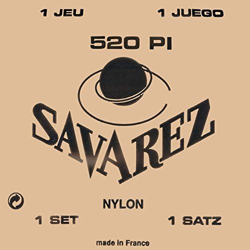 Savarez 655847 Saiten für Klassik-Gitarre Concert 520 - Satz