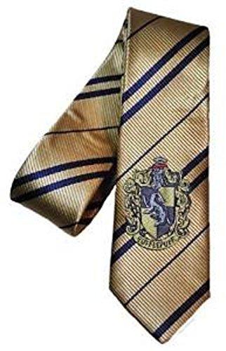 Harry Potter Slytherin, Gryffindor, Hufflepuff, Ravenclaw Polyester NECK TIE SET Of 4