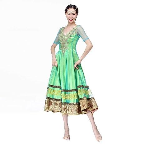 DRESSS Disfraz de Danza del Vientre para Mujer Adulta, Vestido ...