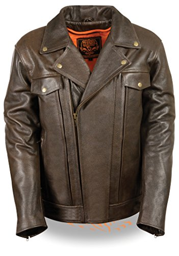 Motorcycle Jacket Brown - 8