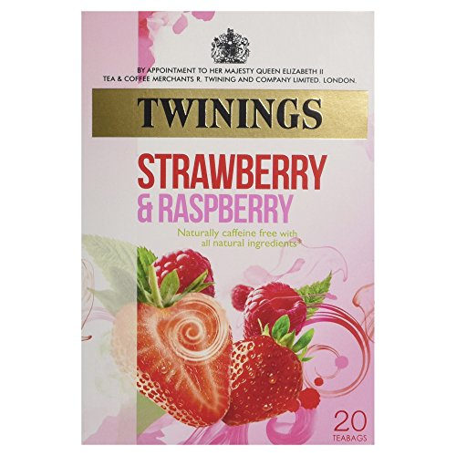 - Twinings Infusion Raspberry, Strawberry and Loganberry Tea / 20 Tea Bags / 40g / 1.4oz.