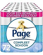 Page wc papier - Compleet Schoon toiletpapier - 72 Rollen - Voordeelverpakking