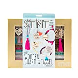 STMT DIY Wooden Charm & Tassel Jewelry by Horizon Group USA